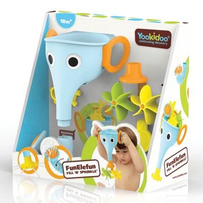 Yookidoo FunElefun Fill 'N' Sprinkle Bath Toy - Blue