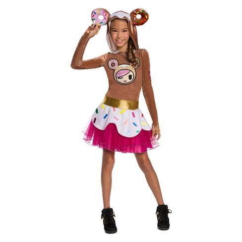 Girls' Tokidoki Donutella Halloween Costume - image 1 of 1