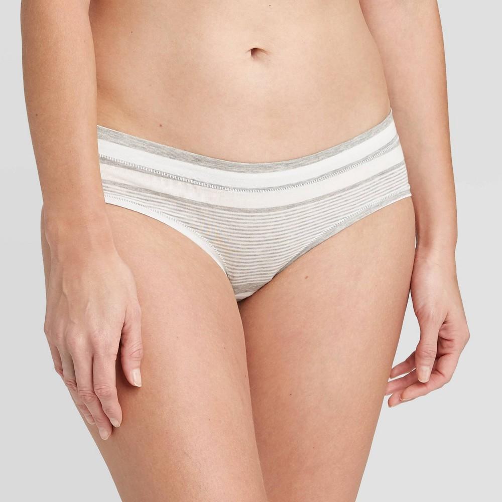 Women 39 S Comfort Hipster Underwear Auden 8482 Heather Gray Striped S