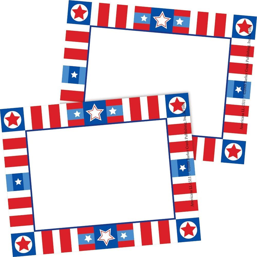 2pk 45ea Americana Remember Me Self Adhesive Name Tag Labels Barker Creek