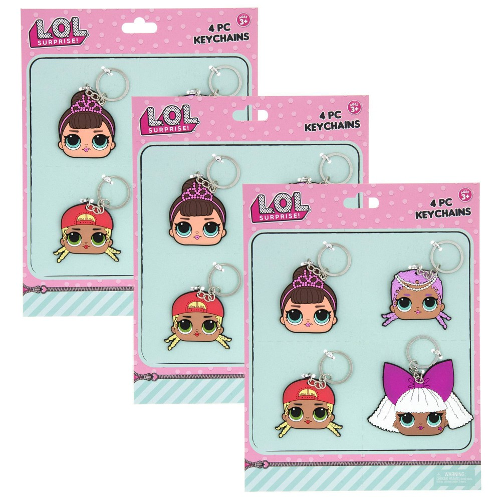 Image of L.O.L. Surprise! 12pc Silicone Keychain
