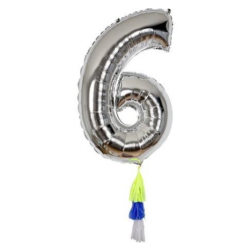 1 Meri Meri Fancy Number Balloon