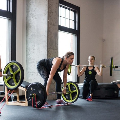 AXLE Versatile Fully Collapsible Lightweight Olympic Barbell Crossfit and Olympic Training (Foot Straps Not Included)