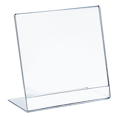 "Azar® 8"" x 10"" L-Shaped Acrylic Sign Holder 10ct - image 1 of 1"