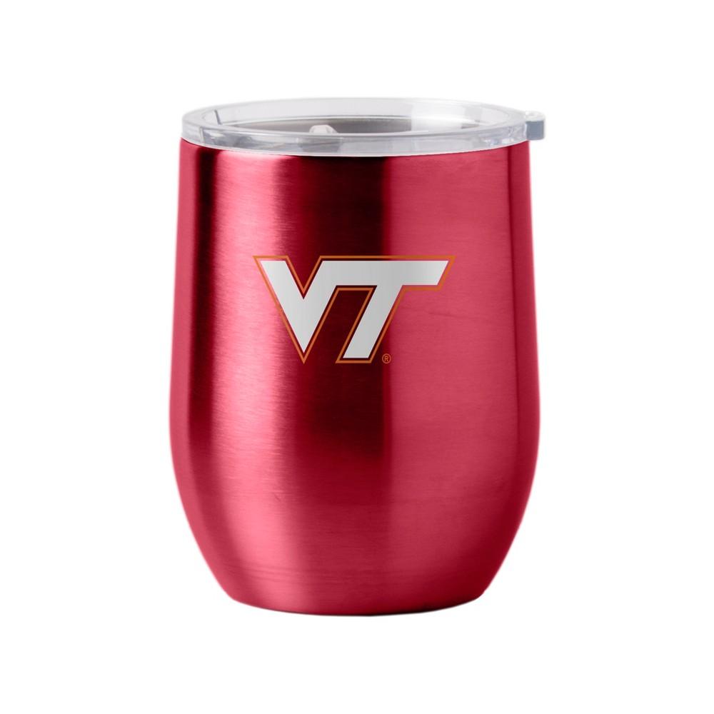 Virginia Tech Hokies Stainless Steel Ultra Curved Wine Tumbler - 16oz