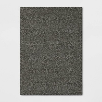 7' x 10' Woven Outdoor Rug Gray - Project 62™