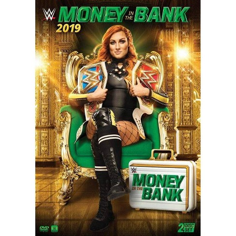 WWE: Money in the Bank 2019 (DVD) - image 1 of 1