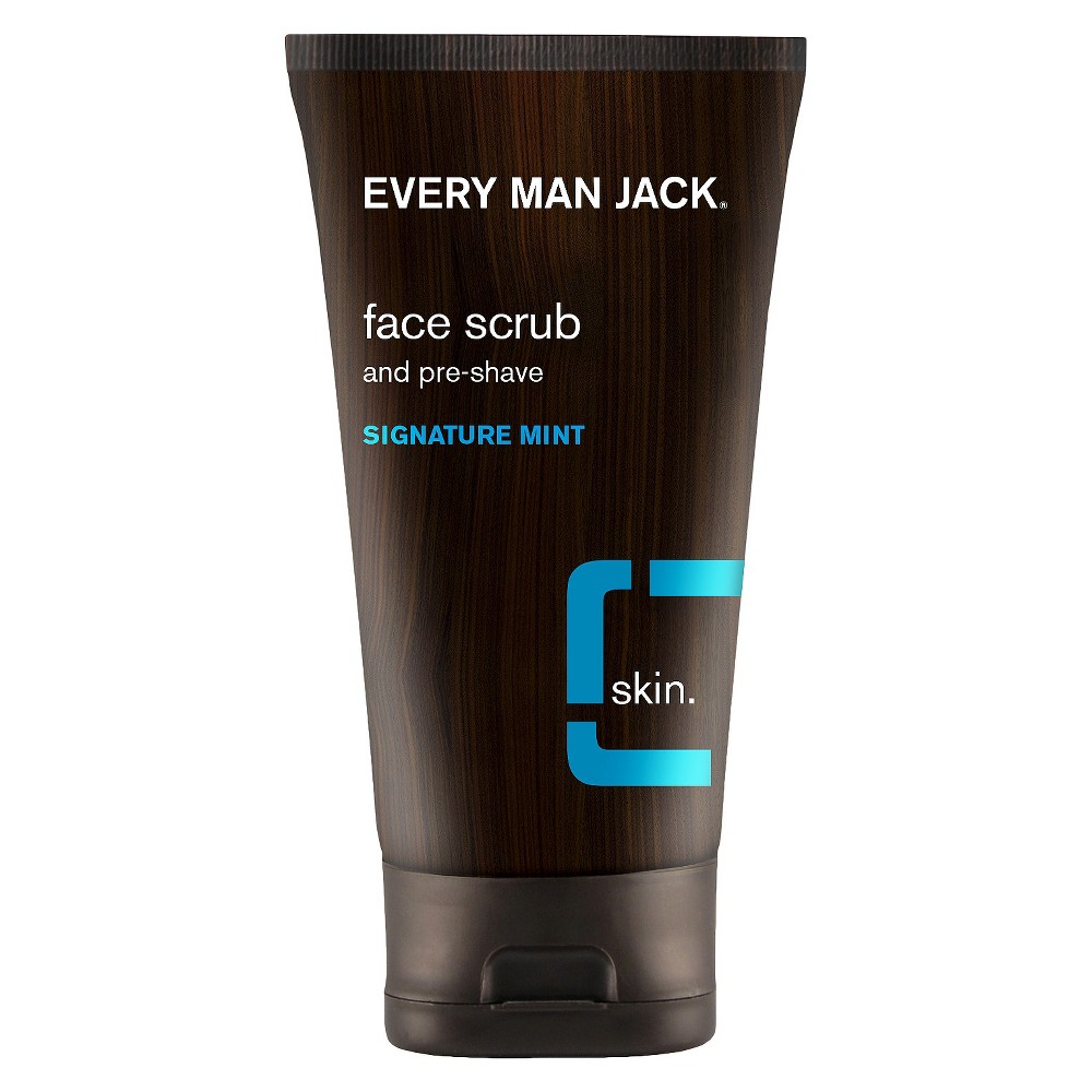 Every Man Jack Pre-Shave Signature Mint Face Scrub - 5oz