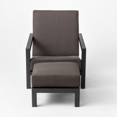Asti Adirondack Patio Club Chair & Ottoman Set - Project 62™ - image 1 of 5