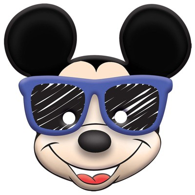 Birthday Express Mickey Mouse On The Go Favor Mask