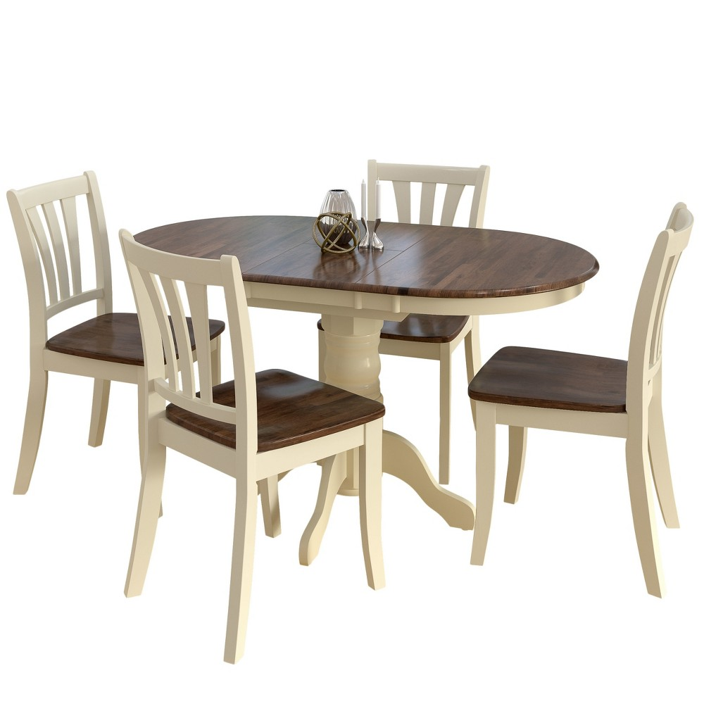 CorLiving Dining Table Set Cream