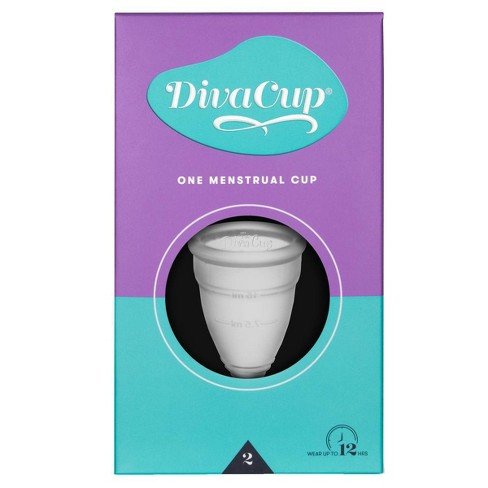 The Diva Cup Model 2 Menstrual Cup - image 1 of 1