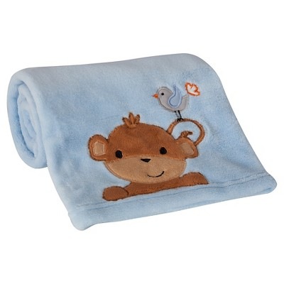 Bedtime Originals Blanket - Mod Monkey