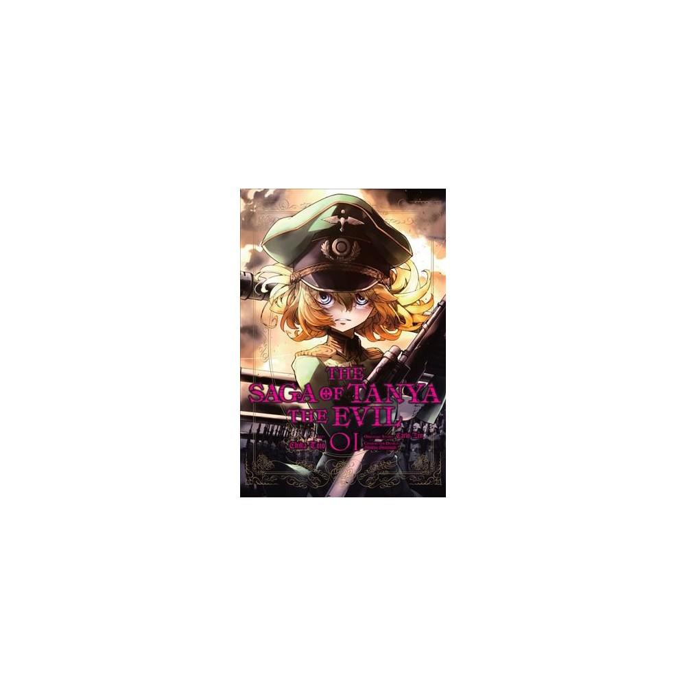 Saga of Tanya the Evil 1 - (Saga of Tanya the Evil) by Carlo Zen (Paperback)