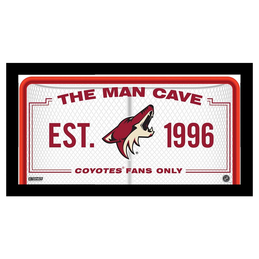 SS 10x20 Man Cave Signs Arizona Coyotes