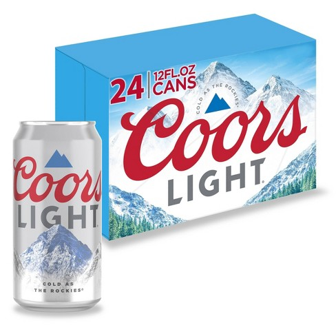 Coors Light Beer - 24pk/12 fl oz Cans - image 1 of 4