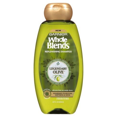 Garnier Whole Blends Legendary Olive Replenishing Shampoo - 22oz - image 1 of 5