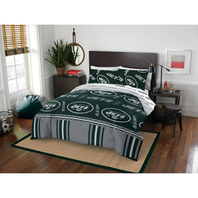 NFL New York Jets Rotary Bed Set