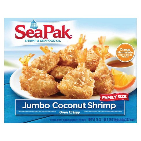 Shellfish SeaPak Coconut Shrimp -18oz - image 1 of 1