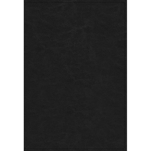 The Kjv, Open Bible, Leathersoft, Black, Indexed, Red Letter Edition, Comfort Print - by  Thomas Nelson - image 1 of 1