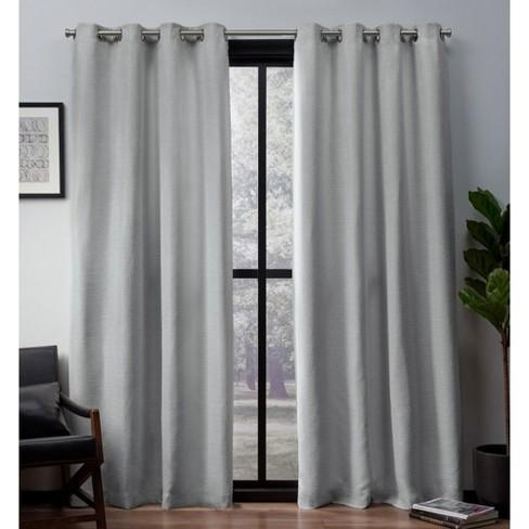 Blackout Curtain Panels Light Gray