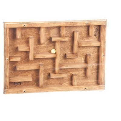 Remley Kids Wooden Marble Maze - Marbles included