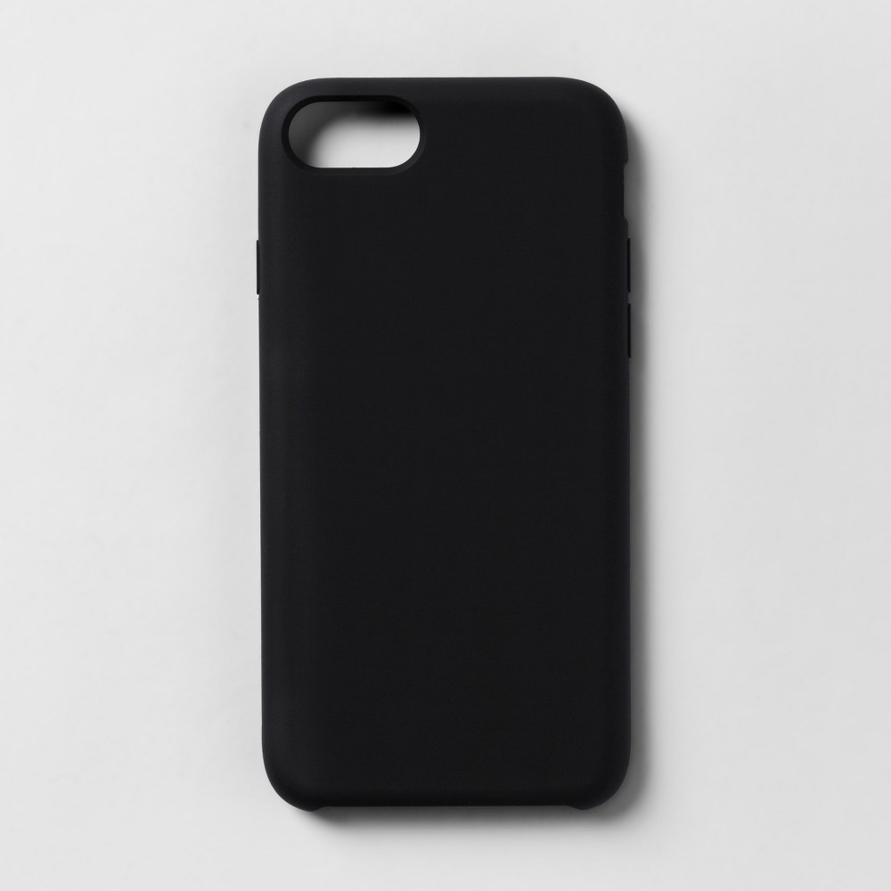 heyday Apple iPhone 8/7/6s/6 Silicone Case - Tinted Black