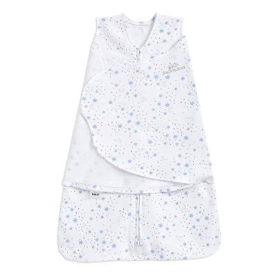 HALO Sleepsack 100% Cotton Swaddle Midnight Moons - Blue S