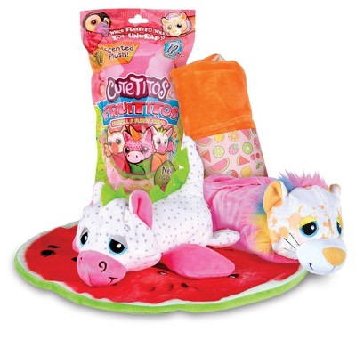 Cutetitos Fruititos - Surprise Stuffed Animals - Collectible Scented Plush - Series 4 - Great Gift for Girls & Boys