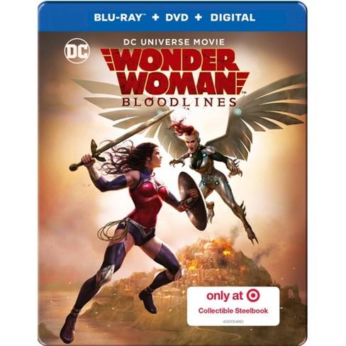 DCU: Wonder Woman: Bloodlines (Target Exclusive Steelbook) (Blu-Ray + DVD + Digital) - image 1 of 2
