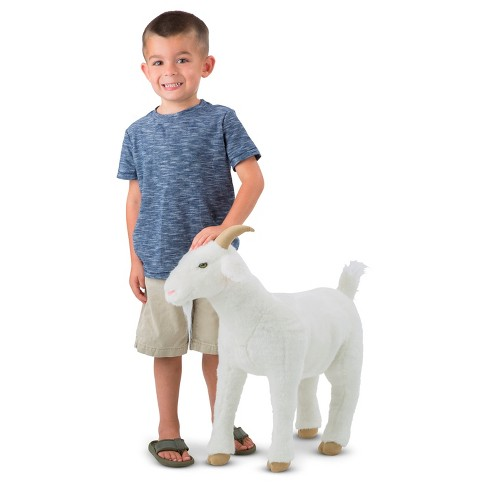 Melissa Doug Goat Plush Toy Target