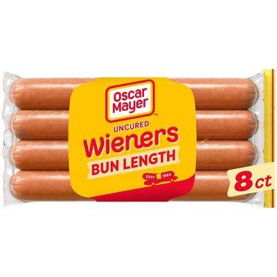 Oscar Mayer Uncured Bun Length Wieners - 16oz/8ct