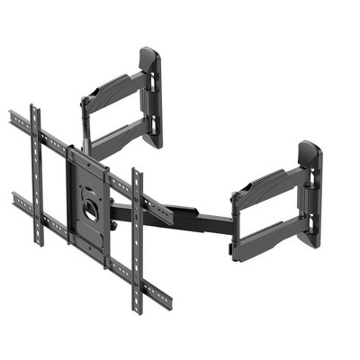 Monoprice Full-Motion Articulating TV Wall Mount Bracket For TVs 37in to 70in, Max Weight 99lbs, VESA Patterns Up to 600x400, Rotating