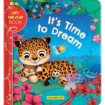 It's Time to Dream: A Lift-The-Flap Book - (Board Book)