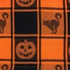 Halloween Woven Check Table Set - Design Imports - image 4 of 4