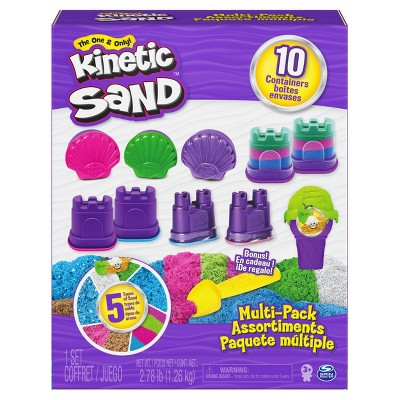 Kinetic Sand 10-Container Multipack
