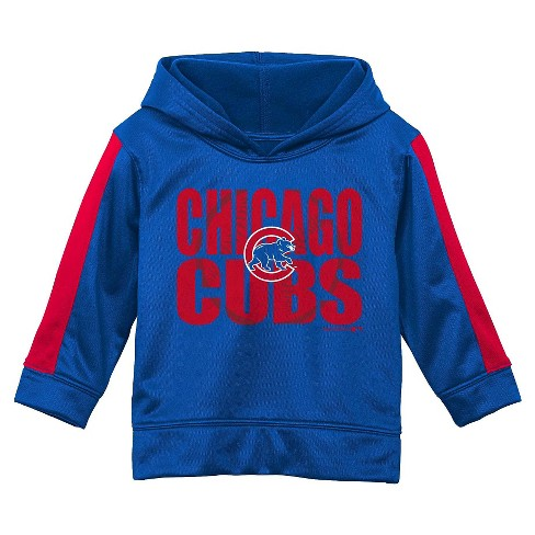 official photos b6ee1 3420f Chicago Cubs Toddler Boys' Team Logo Pullover Hoodie Sweatshirt 3T