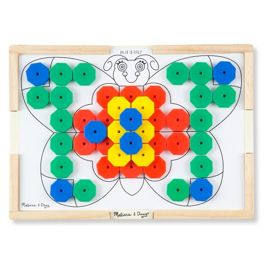 Melissa & Doug Sort and Snap Color Match - Sorting and Patterns Educational Toy image number null