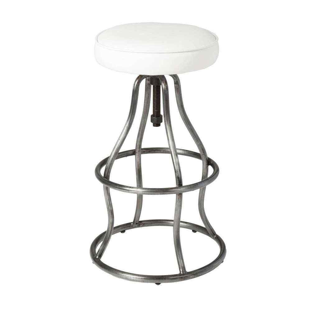 Image of Bowie Bar Stool White - Keswick