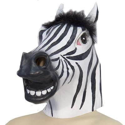 HMS Zebra Animal Full Face Adult Costume Mask