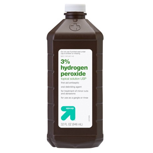 Hydrogen Peroxide Topical Solution USP - 32oz - up & up™ - image 1 of 3