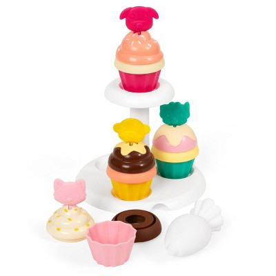 Skip Hop Zoo Toy Sort and Stack Cupcakes