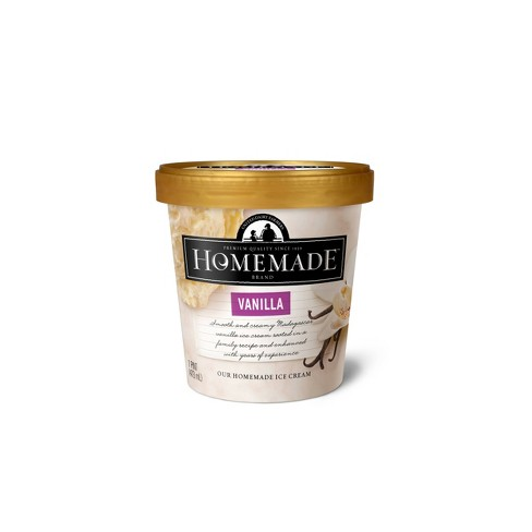 Homemade Brand Vanilla Ice Cream - 16oz - image 1 of 1