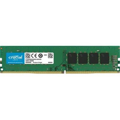Crucial 32GB DDR4 SDRAM Memory Module - 32 GB (1 x 32 GB) - DDR4-2666/PC4-21300 DDR4 SDRAM - CL19 - 1.20 V - Non-ECC - Unbuffered - 288-pin - DIMM