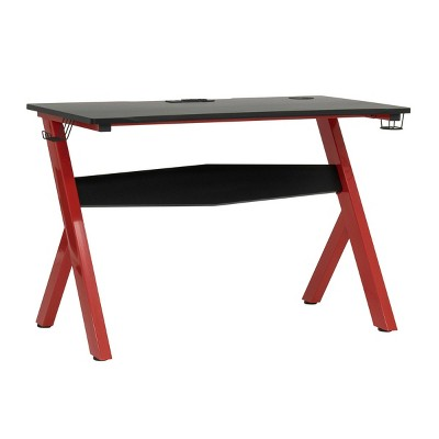 Overlord Gaming Table Red/Black - SD Gaming