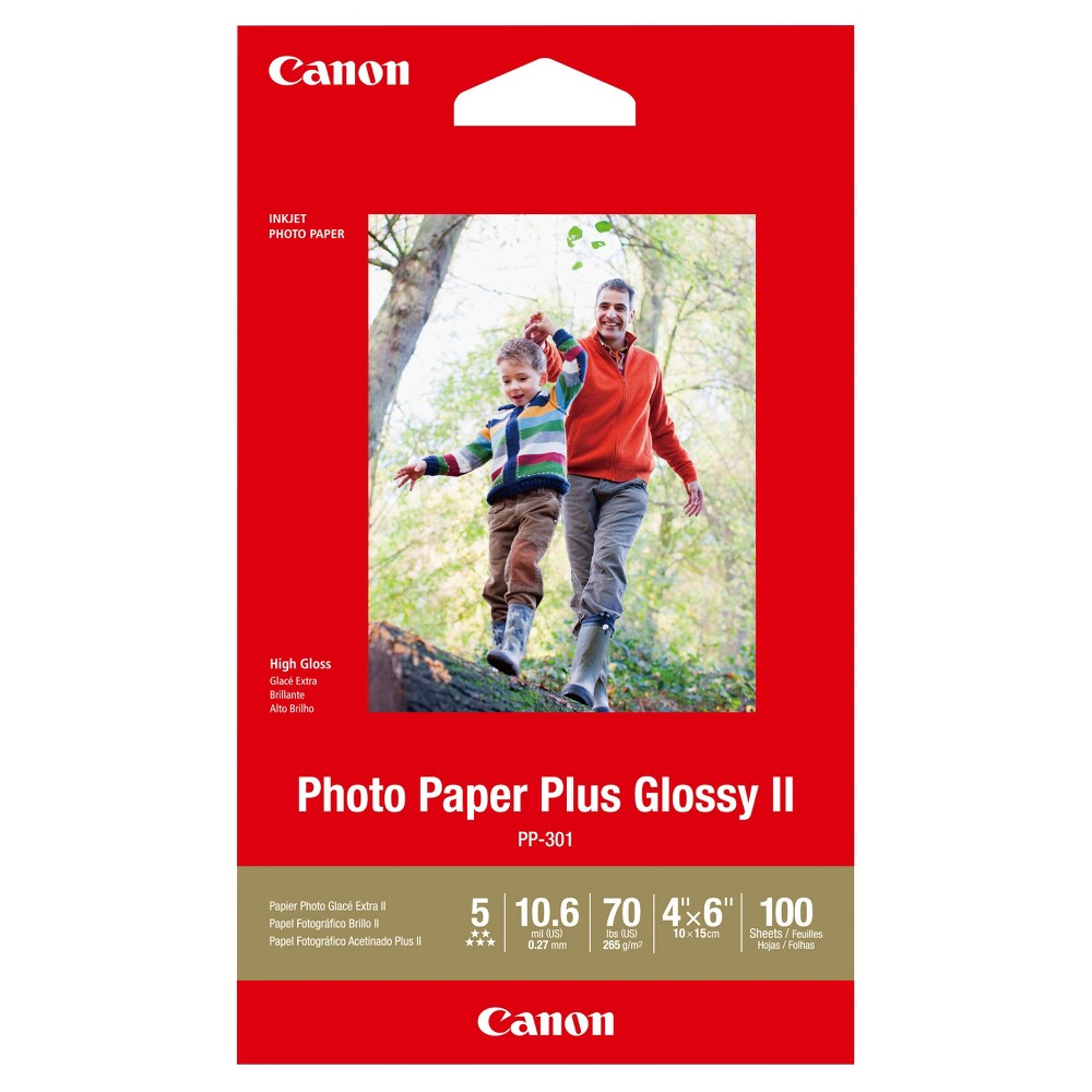 Canon PP-301 Photo Paper Plus Glossy II 4