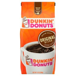 Dunkin' Donuts Original Blend Medium Roast Ground Coffee - 12oz