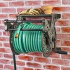 Liberty Garden Wall Mounted Heavy Gauge Aluminum Hanging Hose Reel with Guide - image 4 of 4