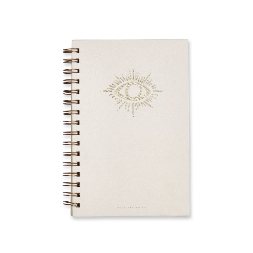 "Image of ""1 Subject College Ruled Magic Eye Spiral Notebook 5.75""""x 8.5"""" White - West Emory"""