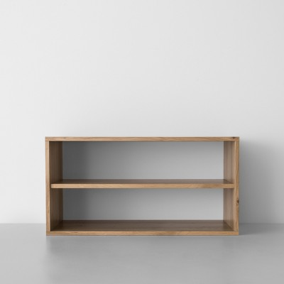 Two Shelf Horizontal Cube Natural - Made By Design™